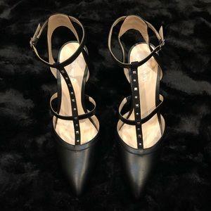 New Nine West Studded Stiletto Pointed Toe 10